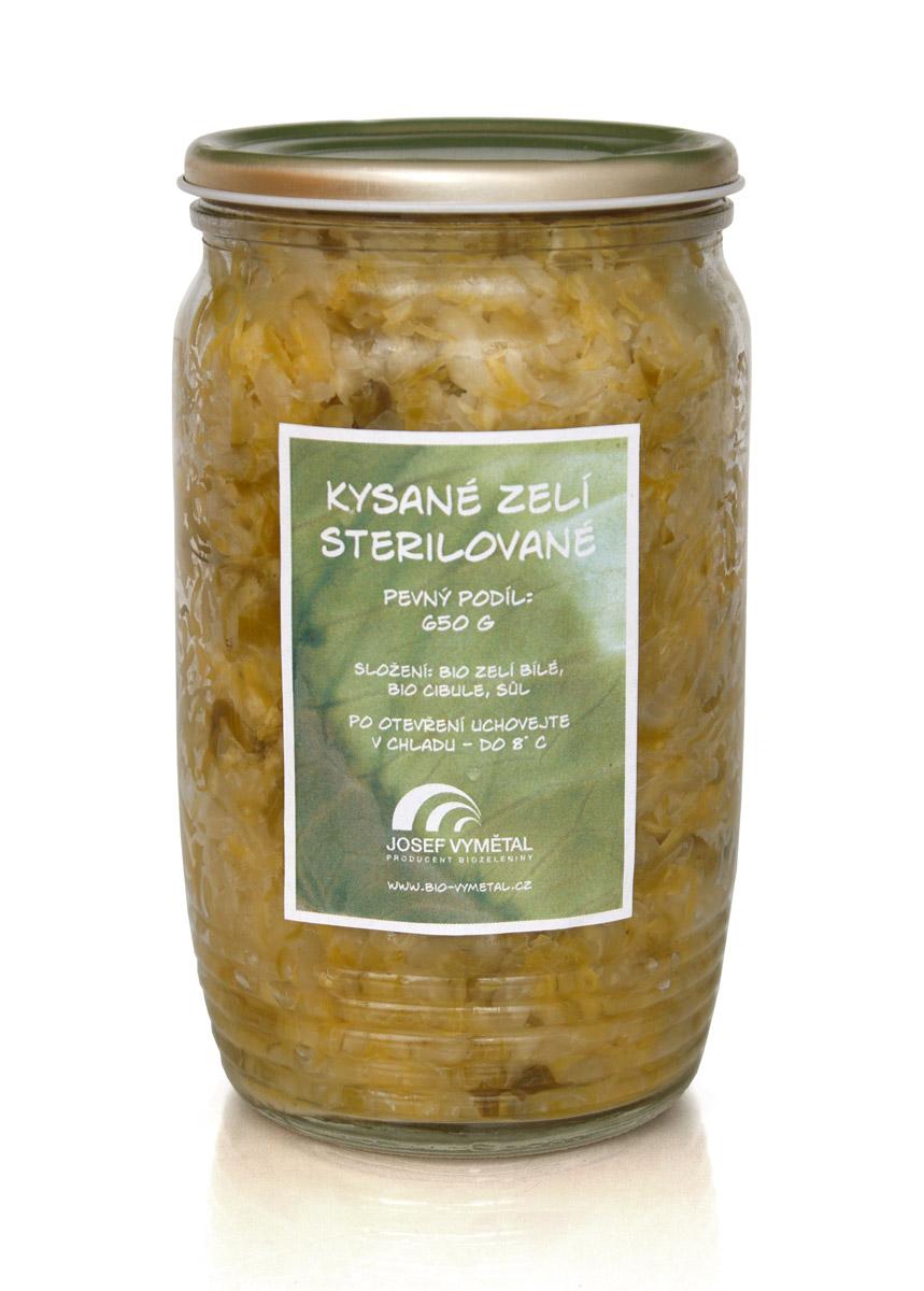 Kysané zelí sterilované