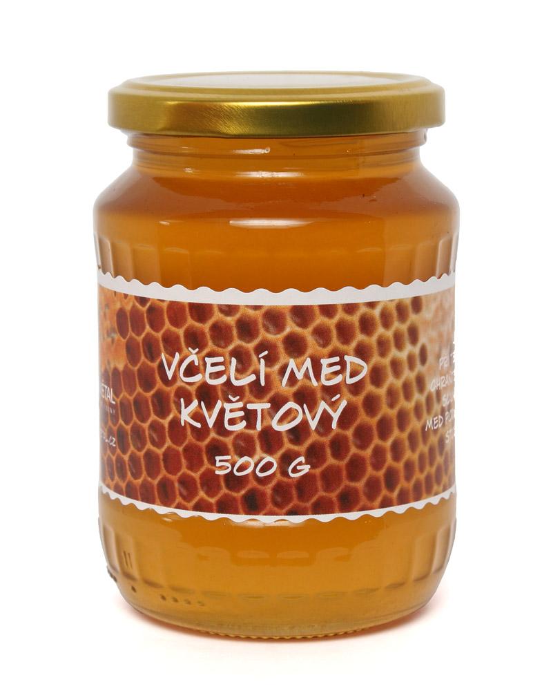 Včelí med květový