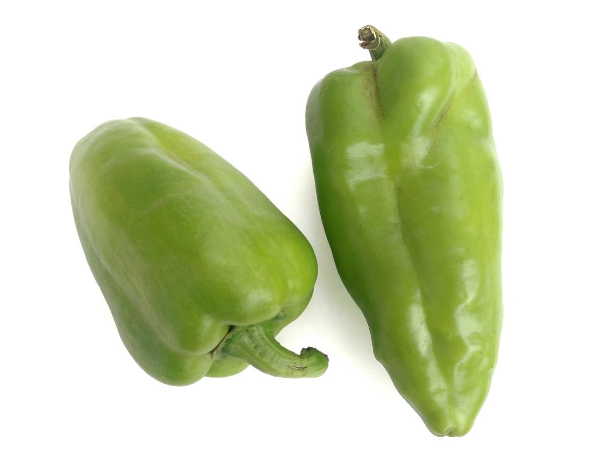 Paprika polní zelená